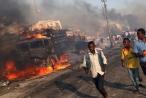 Hiện trường khủng khiếp vụ đánh bom kép làm 276 người chết ở Somalia