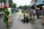 Thái Nguyên: Xe tải vượt trạm cân gây tai nạn 2 người nhập viện