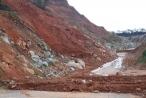 Kon Tum: Đường tránh đèo Mang Rơi trị giá trên 500 tỷ liên tục sạt lở