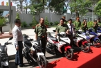 TP HCM: Xe Yamaha Exciter 150 được trang bị cho lực lượng Săn bắt cướp