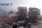 """Vĩnh Phúc: """"Ngược đời"""" việc Công ty Lạc Hồng cho xây nhiều tòa nhà kiên cố ở Tam Đảo gần xong mới xin cấp phép!"""