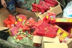 Quảng Ninh: Bắt 200 kg pháo lậu nhập từ Trung Quốc