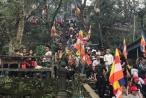 Hà Tĩnh: Chùa Hương Tích đón gần 1 vạn lượt khách trong 3 ngày Tết