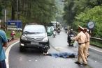 Lâm Đồng: Va chạm với xe ô tô trên đèo Prenn, 1 người tử vong tại chỗ