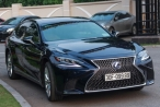 Cận cảnh Lexus LS500h 2018 giá 9 tỷ, biển 'chất' xuất hiện tại Hà Nội