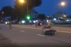 TP HCM: Hai xe máy va chạm, 3 người nhập viện cấp cứu