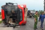 Nghệ An: Khởi tố tài xế vụ lật xe khách khiến 9 người thương vong