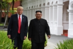 Ông Trump khoe nhận thư của ông Kim Jong-un