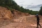Thừa Thiên Huế: Đại công trường khai thác đất trái phép ngang nhiên hoạt động tại Thị xã Hương Trà