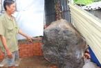 Kiên Giang: Tảng đá nặng hàng tấn rơi xuống nhà dân, nhiều người thoát chết