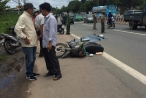 Bình Dương: Trên đường đi khám bệnh về, người phụ nữ bị xe tải tông tử vong