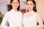 Hai chị em Á hậu Trà My, Thanh Tú lần đầu cùng diễn thời trang