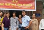 Long An: Trao tặng nhà tình thương cho hộ nghèo huyện Thạch Hóa