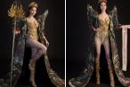 Huỳnh Vy mang 'Nữ thần mùa vàng' nặng 20kg đến Miss Tourism Queen Worldwide 2018