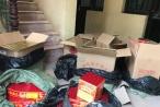 Bắt giữ xe taxi vận chuyển hơn 2 tạ pháo từ Lạng Sơn về Hà Nội