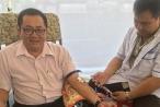 Một Trưởng phòng Tư pháp 45 lần hiến máu cứu người