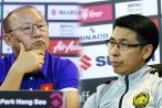 HLV Park Hang-seo: 'Tôi nghĩ lời ông Tan Cheng Hoe là cố ý hướng vào tôi và các cầu thủ của tôi'.