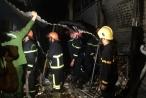 Clip: Cháy chợ đầu mối Thanh Hóa trong đêm
