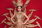 Ngân Anh mang hình tượng mẹ Âu Cơ đến Miss Intercotinental 2018
