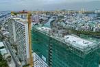 Diamond Lotus Riverside, bức tường xanh khổng lồ giữa lòng Sài Gòn