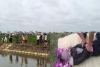 Bàng hoàng phát hiện thi thể người đàn ông nổi trên sông khi đi làm đồng