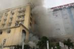 Thông tin mới nhất vụ hỏa hoạn kinh hoàng tại tổ hợp khách sạn, bar, karaoke ở TP Vinh