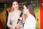 Hoa hậu Loan Vương xinh đẹp, gợi cảm 'lấn át' nữ diễn viên xứ Cảng Thơm
