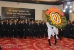 Hình ảnh lễ viếng nguyên Thủ tướng Chính phủ Phan Văn Khải