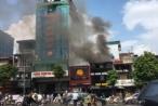 Hà Nội: Cháy lớn tại nhà hàng 'Món ăn ngon đường phố'