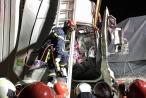 Xe đầu kéo húc xe tải trên cao tốc Pháp Vân - Cầu Giẽ, 2 người tử vong