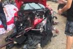 Hé lộ danh tính tài xế trong vụ 'siêu xe' Ferrari của ca sĩ Tuấn Hưng gặp nạn trên cao tốc