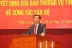 Quảng Ninh: Công bố các quyết định của Ban Thường vụ Tỉnh uỷ về công tác cán bộ