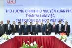 Thủ tướng Nguyễn Xuân Phúc làm việc với Đại học Việt Đức