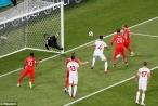 Tunisia 1-2 Anh: Sư tử cất tiếng gầm