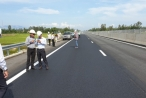'Ổ gà' trên cao tốc Đà Nẵng - Quảng Ngãi đã được sửa chữa