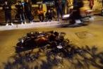 Clip - Xe sang Lexus 'đại náo' phố Trích Sài gây tai nạn liên hoàn