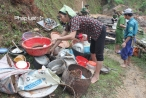 Hà Giang: Khắc phục hậu quả do mưa lũ gây ra
