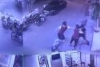 [Clip]: Nữ nhân viên đánh bại 3 gã trộm gương như trong phim?