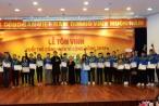 Lễ tôn vinh 'Tuổi trẻ cống hiến vì cộng đồng'