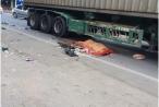 Hà Nội: Container va chạm với xe đạp điện, một người tử vong tại chỗ
