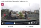 """""""Nữ xế"""" quay xe trên cầu không phải là bà Mai Thị Lan Phương?"""