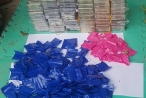Lạng Sơn: Bắt đối tượng giấu 59 bánh heroin và 36 nghìn viên ma túy tổng hợp trong thùng nhãn