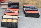 Cao Bằng: Đồn Biên phòng cửa khẩu Trà Lĩnh vụ vận chuyển 30 kg pháo nổ