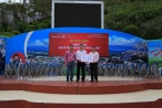 Tập đoàn Nam Cường: Trao tặng 14.000 ghế inox cho hệ thống Nhà văn hóa vùng khó khăn