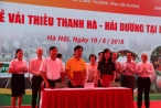 Khai mạc tuần lễ vải thiều Thanh Hà – Hải Dương tại Hà Nội