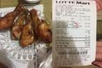 Lotte thông tin ra sao sau vụ bị khách hàng tố cáo bán đùi gà thối