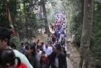Phú Thọ: 8 vạn người dâng hương xin lộc đầu năm tại Đền Hùng