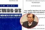 Giáo sư Nguyễn Đức Tồn khẳng định mình bị tố đạo văn vì chống tiêu cực?