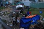 Sửa chữa cầu, một công nhân rơi xuống sông đuối nước