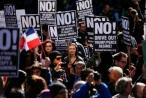 'Ngày tổng thống' người Mỹ xuống đường phản đối Trump